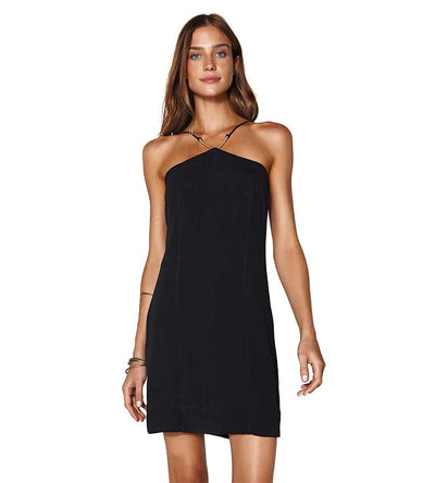BLACK LINA SHORT DRESS VIX 483-407-001