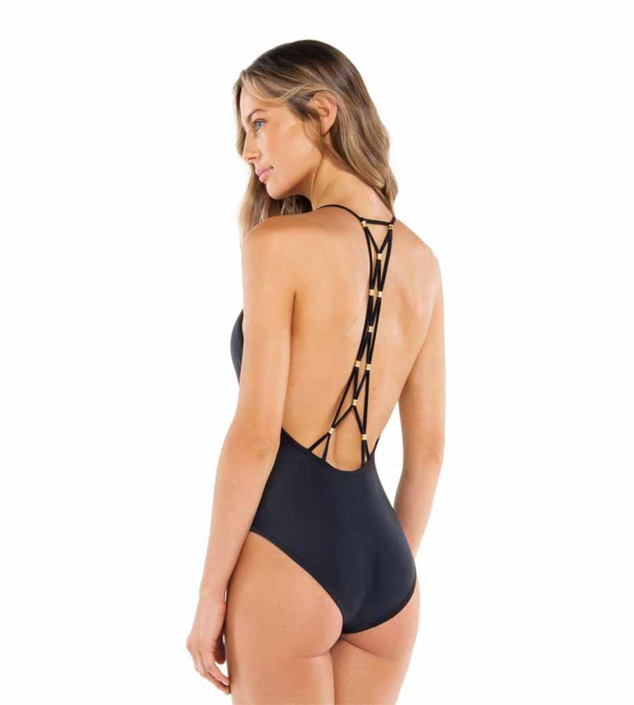 BLACK LUCY ONE PIECE VIX 622-406-001