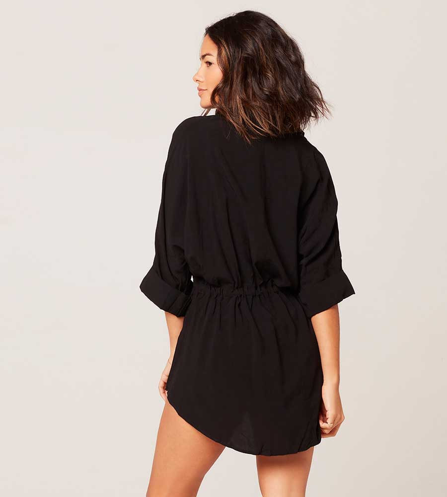 BLACK PACIFICA TUNIC BY LSPACE