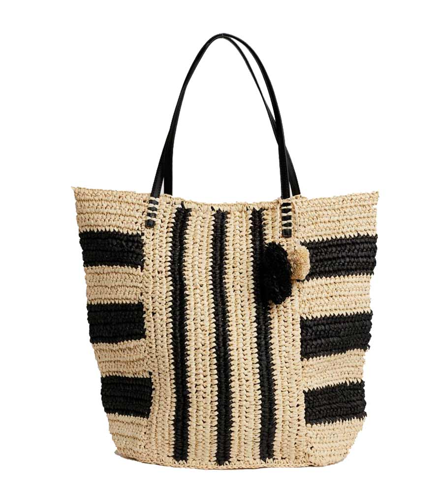 BLACK SOPHIA TOTE BY LSPACE