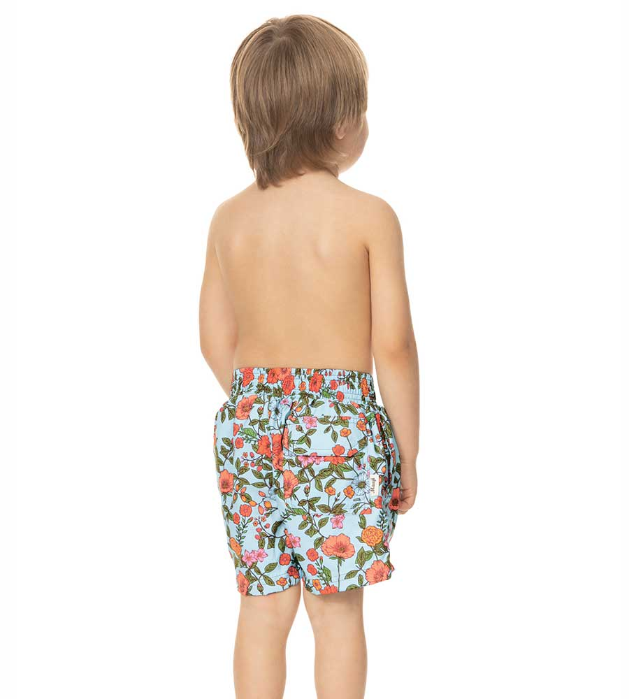 BLOOMING FEDE BOYS SWIM TRUNKS MAAJIRASH-GUARD-SHIRTS 9086KST026