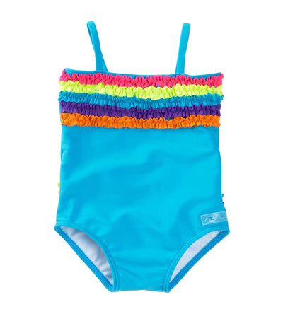 BLUE CHASING RAINBOWS ONE PIECE AZUL 2229-T