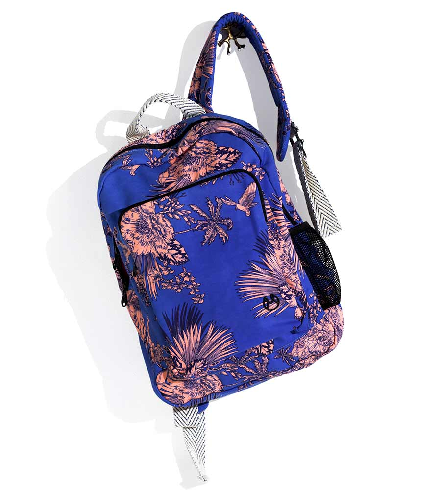 BLUE PARADISE BACKPACK MAAJI 1269XBP02
