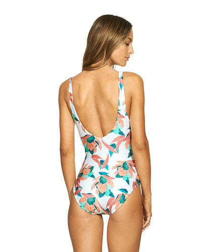 BLUEBELL TIED ONE PIECE VIX 208-573-002
