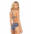 BLUE BAMBOO TRIANGLE TOP COSITA LINDA CL21171B