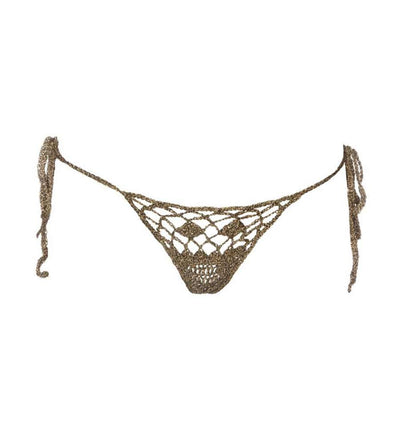 BRONZE METALLIC COACHELLA BELLA LAME BOTTOM MONICA HANSEN TAB.L27
