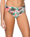 CALIFORNIA PALMS ALOHA BANDED BOTTOM SWIM SYSTEMS C247CAPA