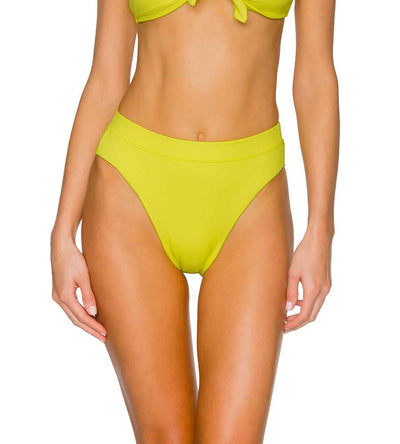 LEMON DROP SOLEIL HIGH WAIST BOTTOM SWIM SYSTEMS C272LEDR