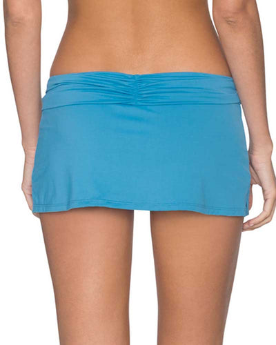 BAY BLUE ALOHA SWIM SKIRT SWIM SYSTEMS C282BAYB