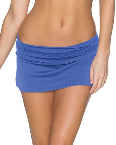 BLUE VIOLET ALOHA SWIM SKIRT SWIM SYSTEMS C282BLVI