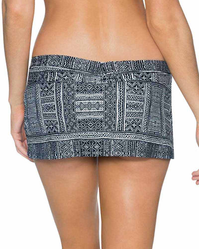 MIDNIGHT SAFARI ALOHA SWIM SKIRT SWIM SYSTEMS C282MISA
