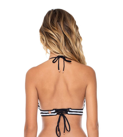 BETWEEN THE LINES LOVEBIRDS HALTER TOP SWIM SYSTEMS C610BTWL