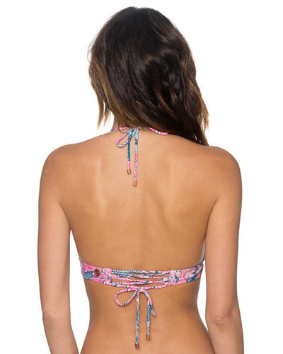 LOVE BUG LOVEBIRDS HALTER TOP SWIM SYSTEMS C610LOBU