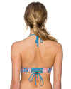 WILDFLOWER LOVEBIRDS HALTER TOP SWIM SYSTEMS C610WILD