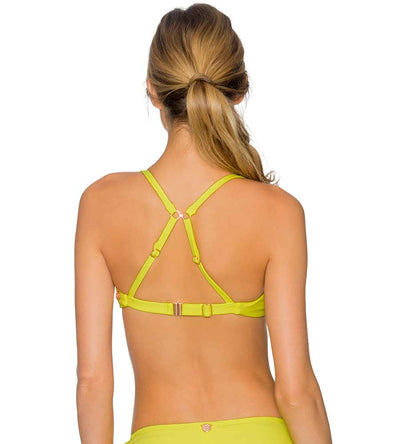 LEMON DROP BETTY BRALETTE TOP SWIM SYSTEMS C622LEDR