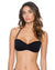 ONYX HEART BREAKER BANDEAU TOP BY SWIM SYSTEMS