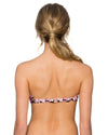 CAMELLIA TRELLIS BANDEAU TOP SWIM SYSTEMS C624CAME