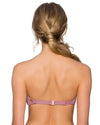 MAUVELOUS TRELLIS BANDEAU TOP SWIM SYSTEMS C624MAUV