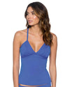 BLUE VIOLET GIDGET TANKINI TOP SWIM SYSTEMS C672BLVI
