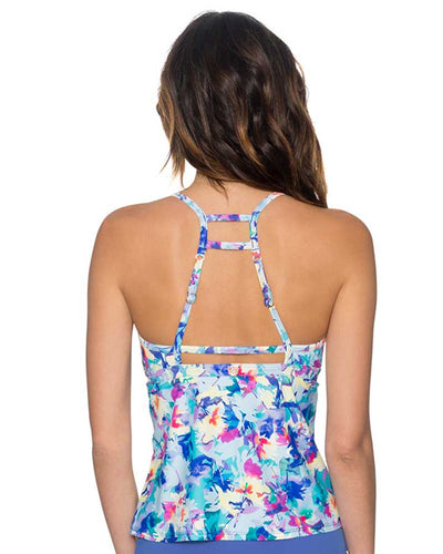 MEADOW GIDGET TANKINI TOP SWIM SYSTEMS C672MEDW