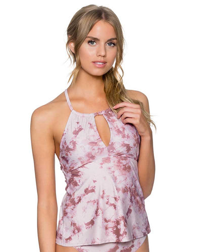 DUSTY ROSE MIRAGE TANKINI TOP SWIM SYSTEMS C679DUSR