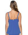 BLUE VIOLET CROSSROADS TANKINI TOP SWIM SYSTEMS C792BLVI