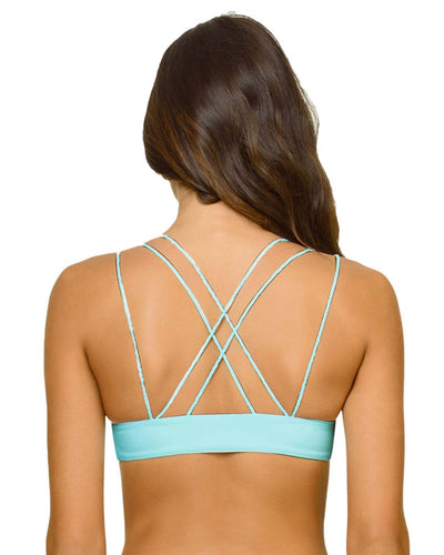 CABANA BLUE BRAIDED CRUZ TOP PILYQ CAB-155H