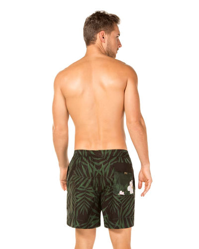 CAMELLIA PALM JOE SWIM SHORT AGUA BENDITA AM2000918-1