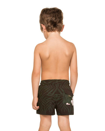 CAMELLIA PALM NICK BOYS SWIM SHORTS AGUA BENDITA AN2000918-1