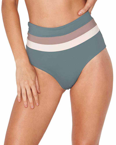 SLATED GLASS PORTIA STRIPE BOTTOM LSPACE CBPSC18-SLG