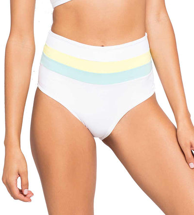LEMONADE COLOR BLOCK PORTIA STRIPE BOTTOM LSPACE CBPSC18-WLL