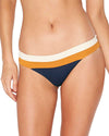 COLOR BLOCK MIDNIGHT BLUE VERONICA BOTTOM LSPACE CBVBB18-MDB