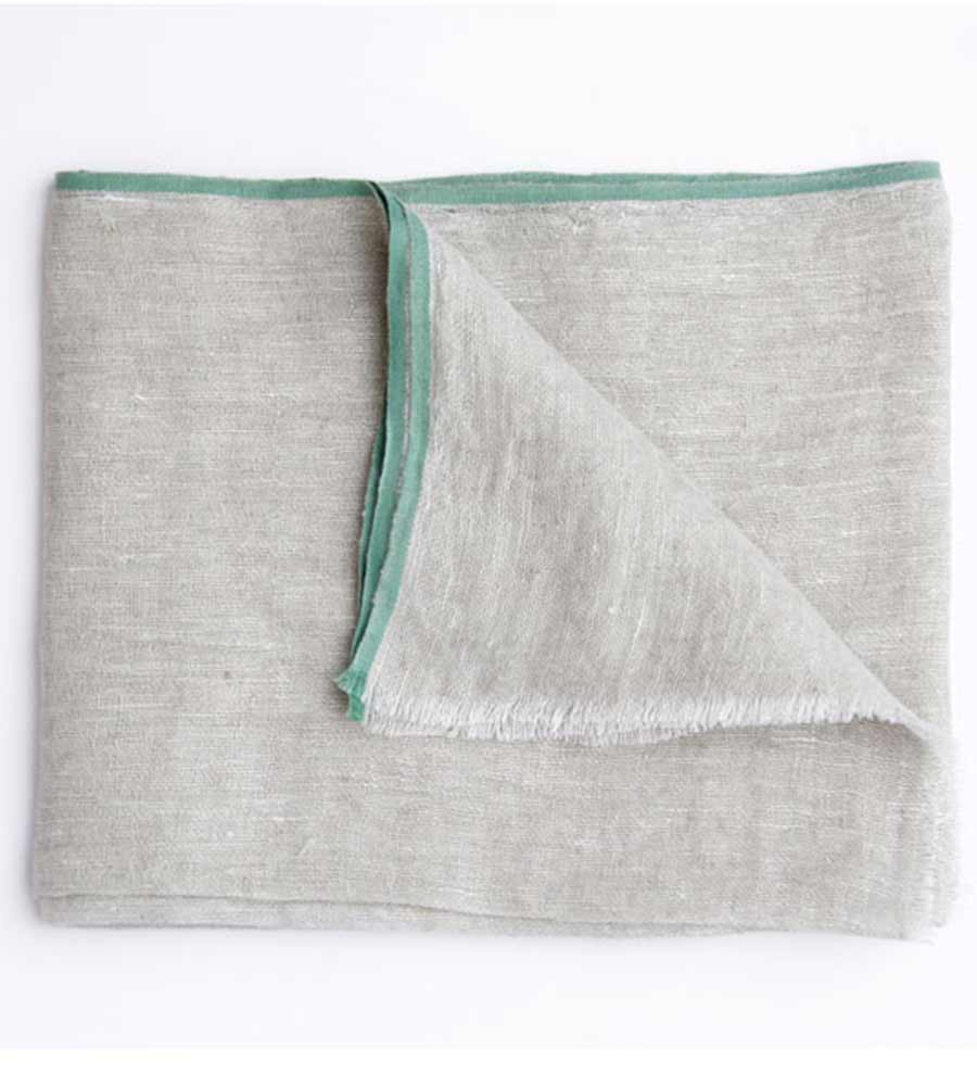 CHAMBRAY MINT SCARF TOUCHE 0S46V01
