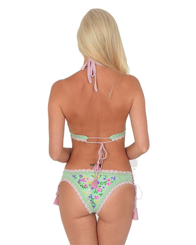 CHARLOTTE LACE-UP BOTTOM RINIKINI PAN201817