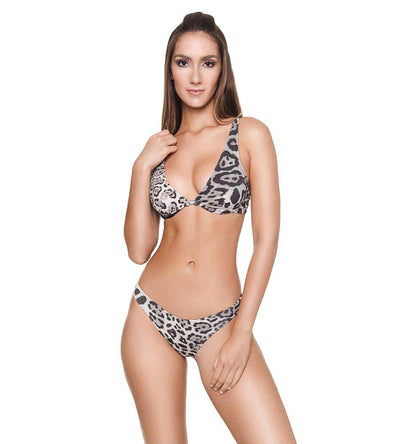 CHEETAH BLACK KATE BIKINI BOTTOM DESPI 4890BF