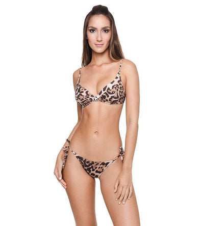 CHEETAH BROWNIE CLAUDIA BIKINI TOP DESPI 4384T