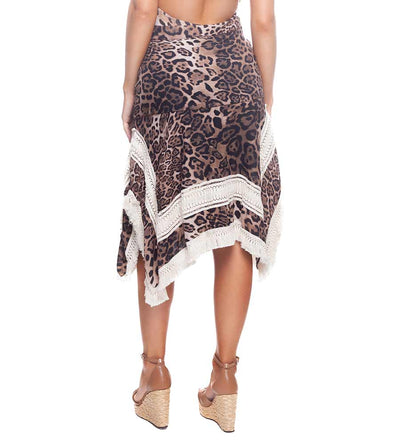 CHEETAH BROWNIE SQ SKIRT DESPI 43108