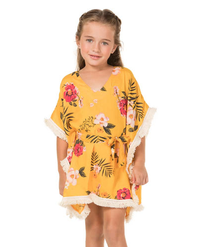 CLEMENTINE IRIS GIRLS TUNIC AGUA BENDITA AN4000218-1