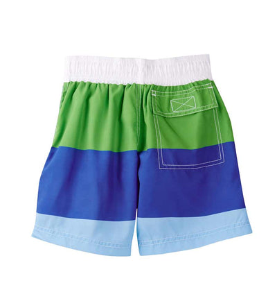 COLOR BLOCK SWIM SHORTS AZUL 171