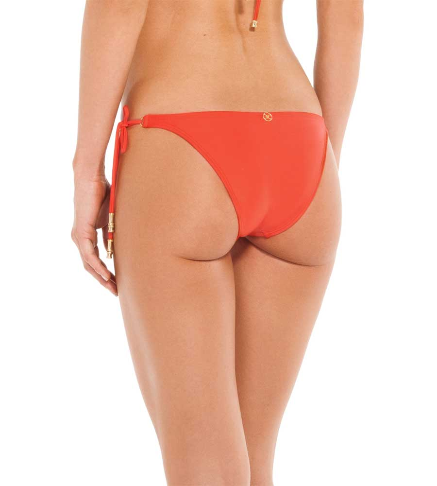 CORAL SHAYE LONG TIE BOTTOM VIX 101-406-055
