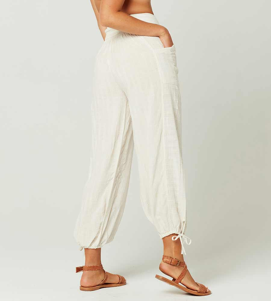 CREAM SUMMER LOVE PANT LSPACE SUMPA20-CRM
