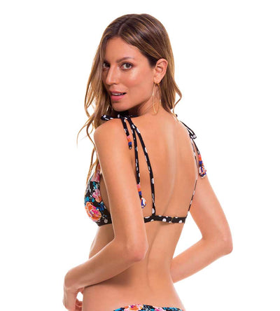 DOTS TRIANGLE BIKINI TOP MILONGA DOT101