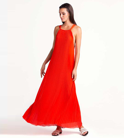 DRAGON FIRE MAXI DRESS TOUCHE 0F45C01