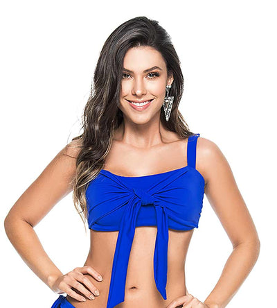 ELECTRIC BLUE BOW BRALETTE TOP PHAX BF16520028-412