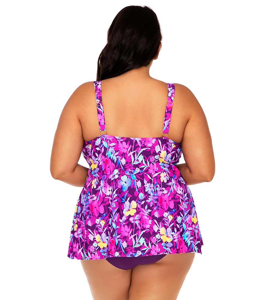 EVENING BLOOMS AMELIA TANKINI TOP SUNSETS ESCAPE 574TEVEBL