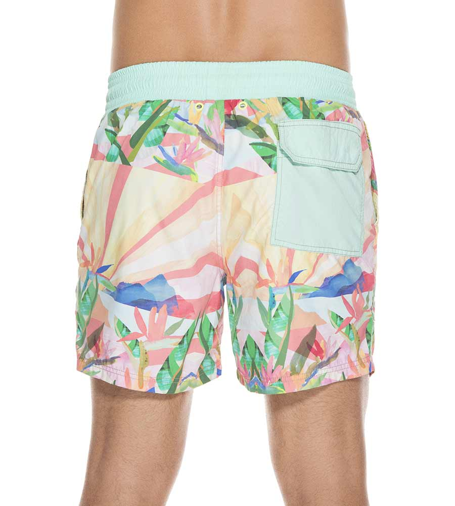FIJI VIBES  SPORTY SWIM SHORT MAAJI 1049TSS14