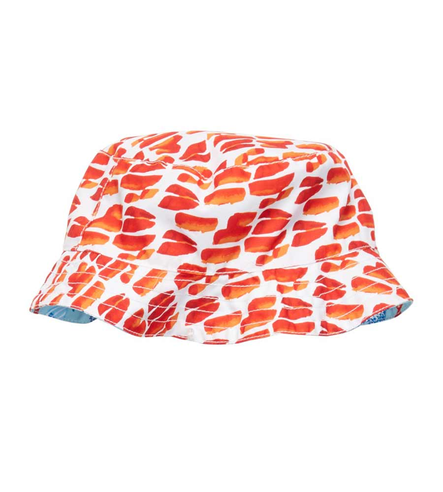 FISH AND CO REVERSIBLE BUCKET HAT AZUL 8019