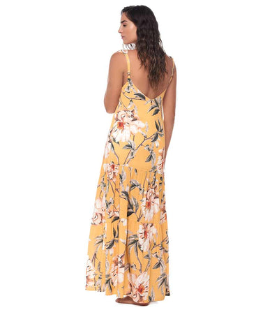 FLOWER FLUSH MAGGIE MAXI DRESS MALAI C23049