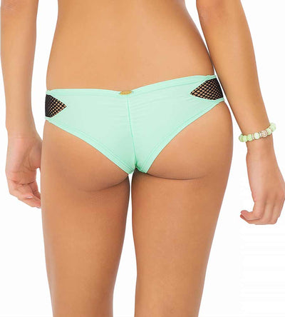 FOR YOUR EYES ONLY MINT CONVERTIBLE NET CHEEKY BOTTOM LULI FAMA L432737-400