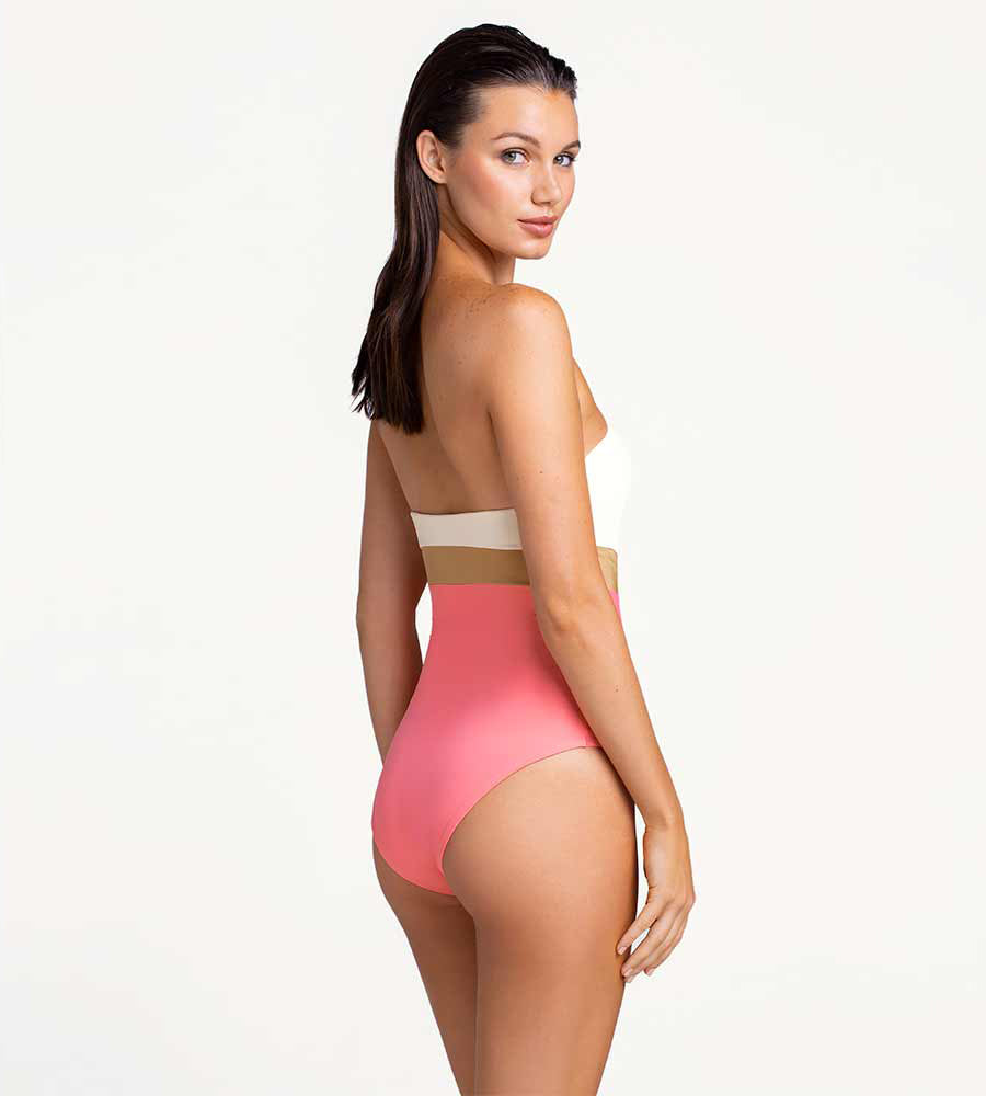 GLITTERATTI BANDEAU ONE PIECE TOUCHE 0E03001